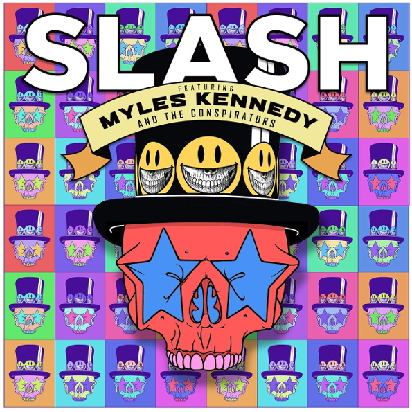 Slash (Featuring Myles Kennedy and The Conspirators) - Living the Dream (2018) MP3