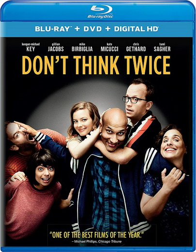 Не думай дважды / Dont Think Twice (Майк Бирбиглия / Mike Birbiglia) [2016, США, драма, комедия, BDRip] MVO + Sub Rus (Forced)