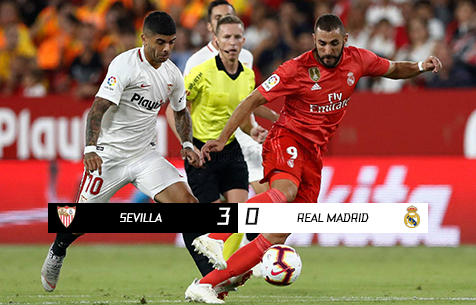 Sevilla FC - Real Madrid C.F. 3:0