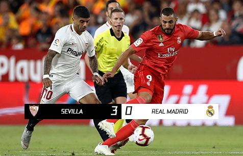 Sevilla FC - Real Madrid C.F. 3:0