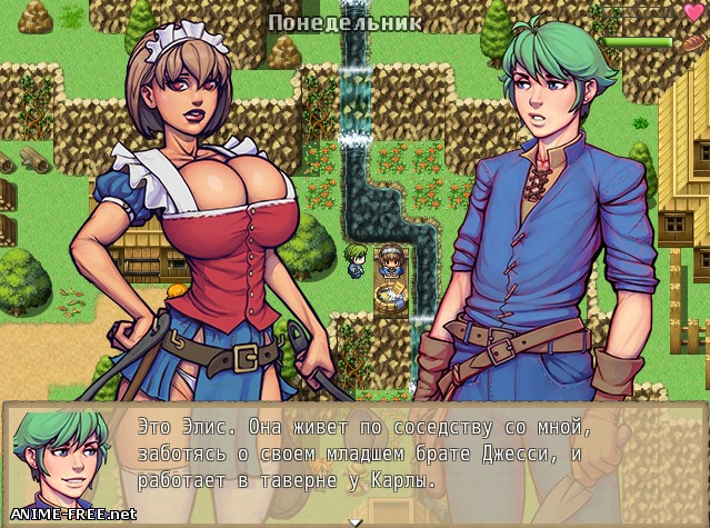 Warlock and Boobs [2018] [Uncen] [RPG] [RUS,ENG] H-Game