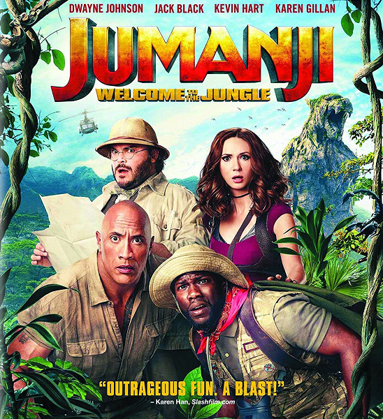 Джуманджи: Зов джунглей / Jumanji: Welcome to the Jungle (2017) WEB-DLRip-AVC | D | Open Matte