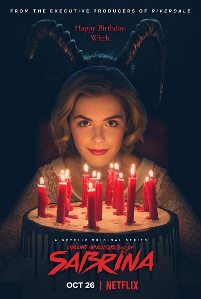 Леденящие душу приключения Сабрины / Chilling Adventures of Sabrina [S01] (2018) WEBRip 1080p | GreenРай Studio | 17.10 GB