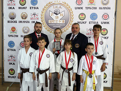 Международный турнир «6-th SOKE KUBOTA EURO CUP»