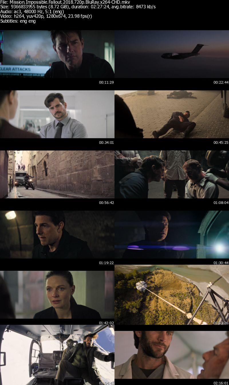 Mission Impossible - Fallout (2018) 720p BluRay x264-CHD
