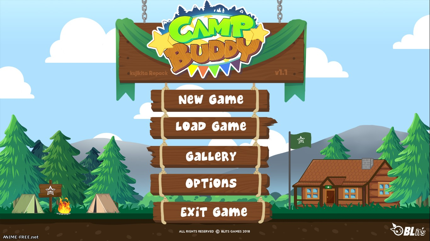 Camp Buddy [2018] [Uncen] [ADV, VN] [ENG] H-Game