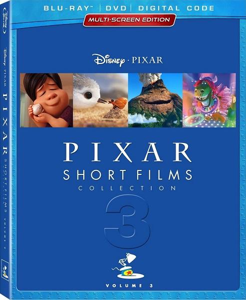 Pixar: Коллекция короткометражных мультфильмов Том 3 / Pixar Shorts Story III (2018) BDRip 1080p | D