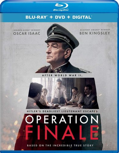 Операция «Финал» / Operation Finale (2018) BDRemux [EN / EN, Fr, Sp Sub]