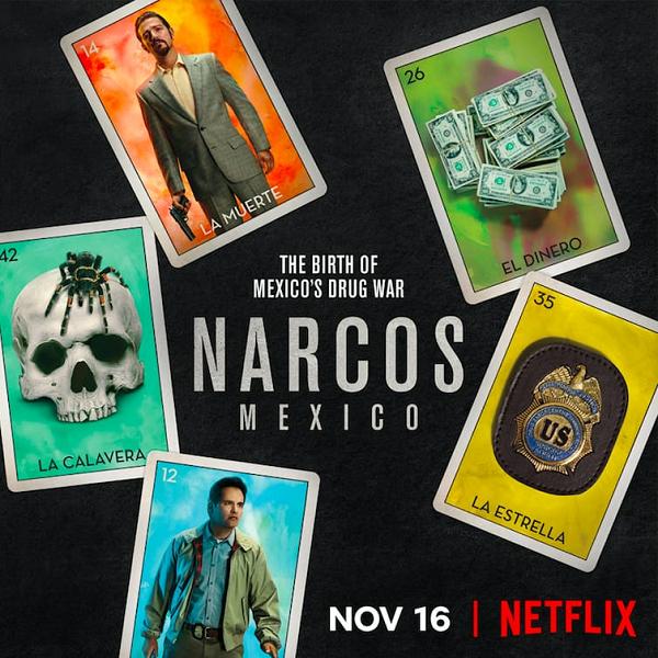 Нарко: Мексика / Narcos: Mexico [S01] (2018) WEBRip | NewStudio | 7.60 GB