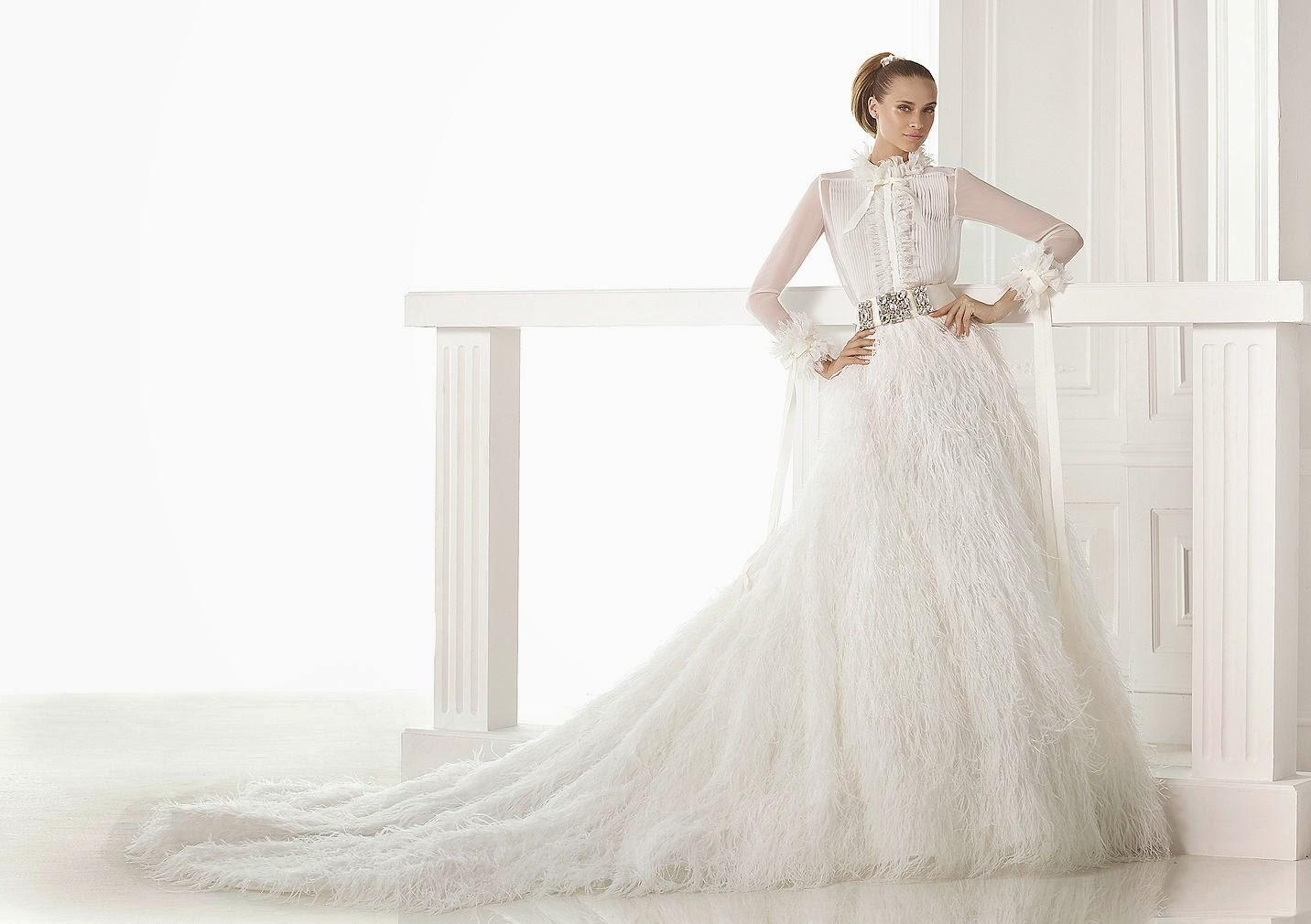 Изюминка свадебной моды – двухкомпонентное платье невесты