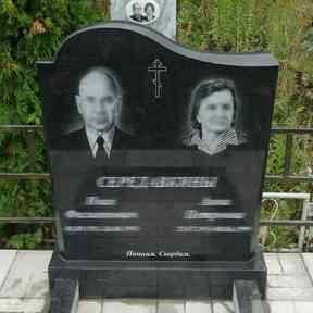 Продажа памятников и монументов на могилу из черного карельского гранита