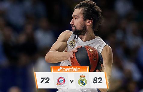 Bayern München - Real Madrid Baloncesto 72:82