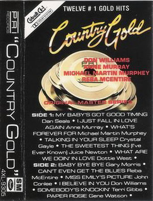 VA - Country Gold (1985) [FLAC 2.0|48/24|image+.cue|MC-Rip] <Country Rock>