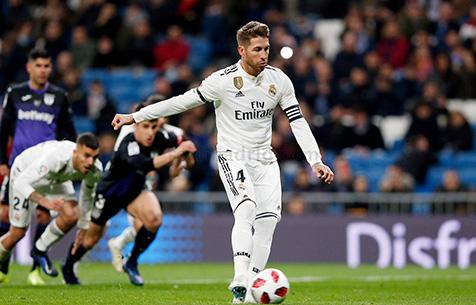 Серхио Рамос забил 100-й гол в карьере