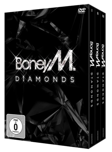 Boney M - Diamonds (40th Anniversary Box Set) (2015, 3xDVDRip)