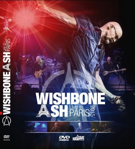 Wishbone Ash - live in Paris (2016, DVD9)