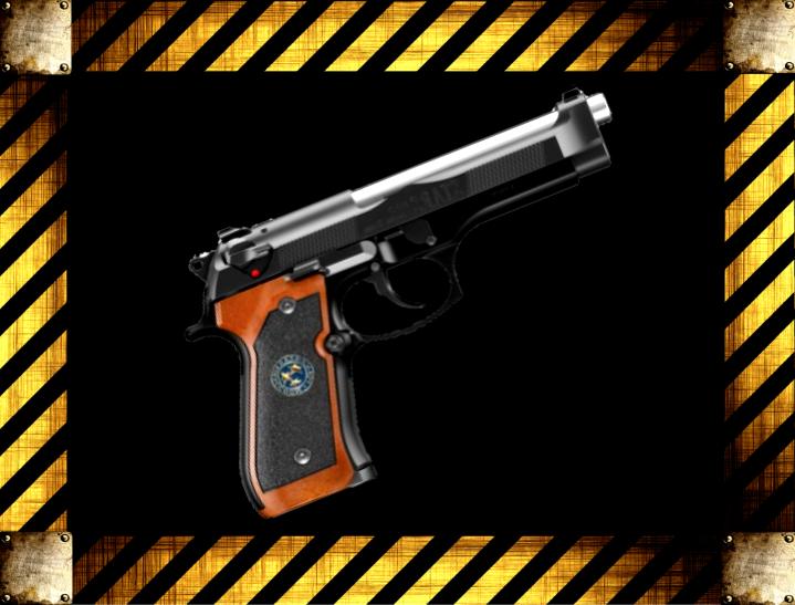 Оружие Resident Evil 2: Remake 334555f1461864d8cc5384fb80ea306a