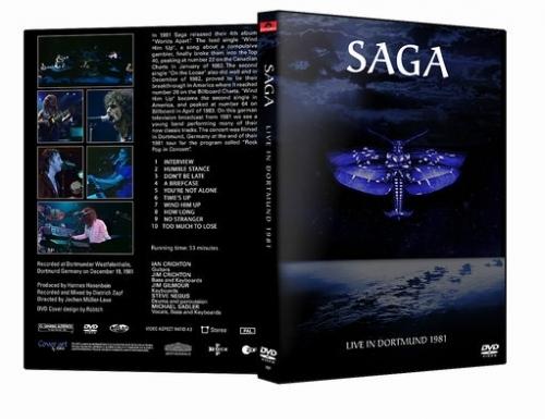 Saga - Live in Dortmund (1981, DVD5)