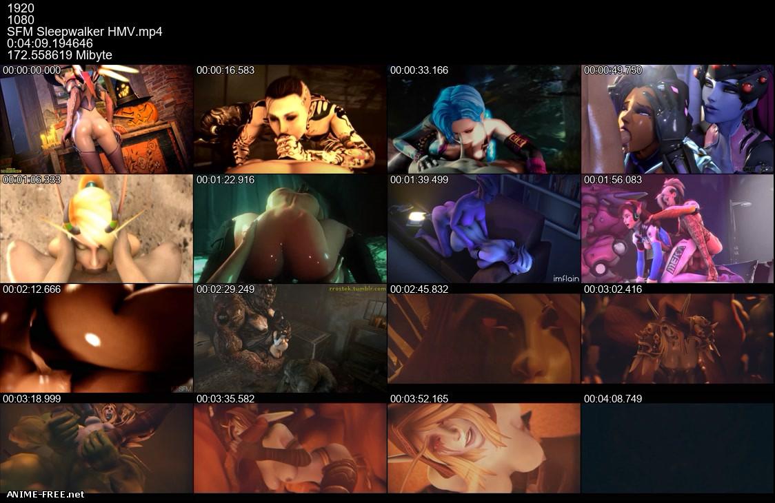 RahRahRasputin Animation (Collection) [2016-2019] [Uncen] [HD-1080p / HD-720p] [ENG] 3D-Hentai