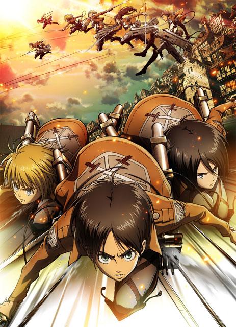 Shingeki no Kyojin / Attack on Titan / Атака титанов / Вторжение титанов [TV-1][2013, TV, 25 эп.] BDRip 720p raw+rus x 8