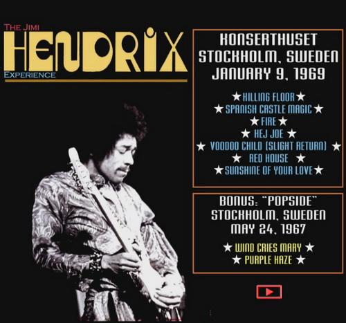 Jimi Hendrix - Live In Stockholm 1969 (2007, DVD5)