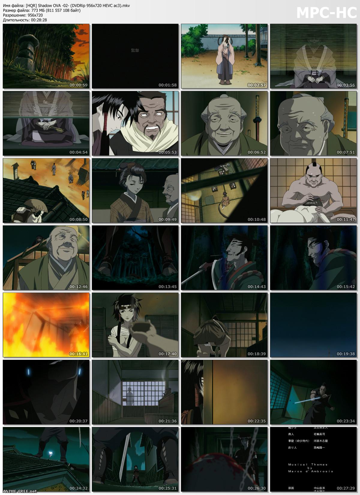 Kage / Hyper Shinobi Animation: Shadow / Тень [Ep.1-4] [RUS,ENG,JAP] [720p] Anime Hentai
