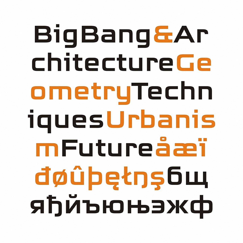 Шрифт BigBang
