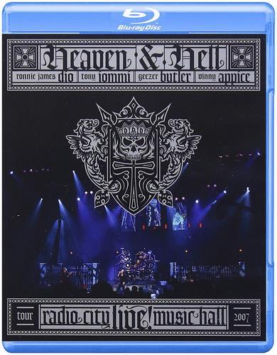 Black Sabbath And Dio - Heaven & Hell - Radio City Music (2007, Blu-Ray)
