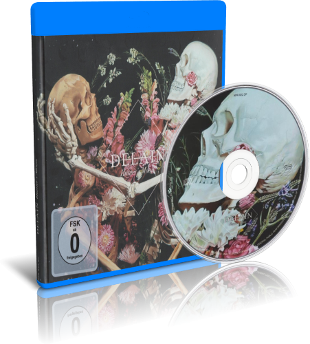 Delain - Hunter's Moon Danse Macabre (2019, Blu-ray)