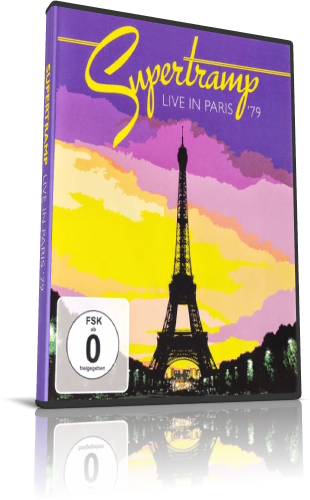 Supertramp - Live In Paris '79 (2019, DVD9)