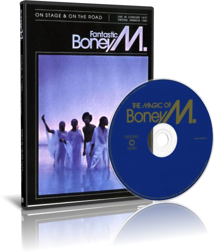 Boney M - Fantastic Boney M, The Magic Of Boney M (2006-2007, 2xDVD9)