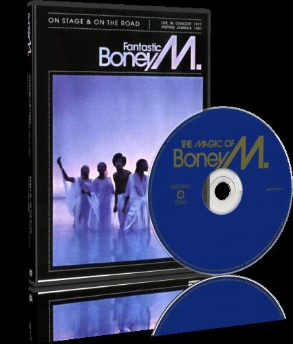Boney M - Fantastic Boney M, The Magic Of Boney M (2006-2007, 2xDVD9)