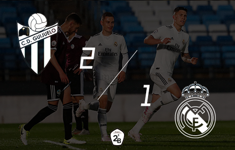 CD Guijuelo - Real Madrid Castilla 2:1