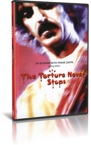 Frank Zappa - The Torture Never Stops 1981 (2010, DVD9)