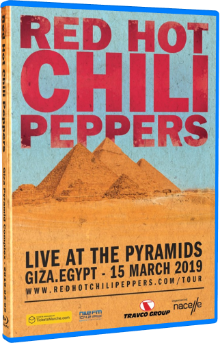 Red Hot Chili Peppers - Live at the Pyramids (2019, Blu-ray)