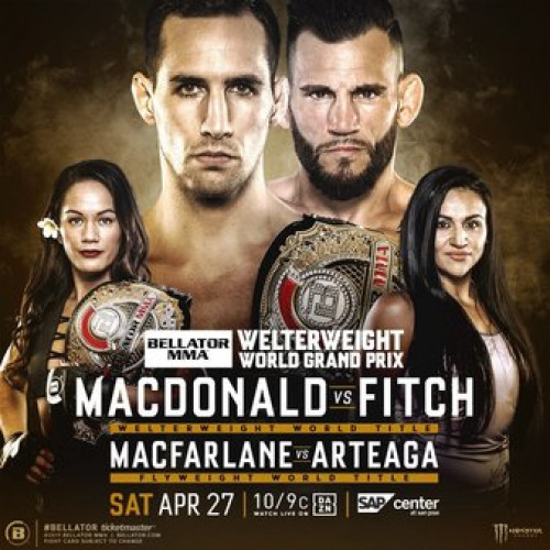 Смешанные единоборства. Bellator 220: MacDonald vs. Fitch / Рори Макдональд - Джон Фитч [Main Card] [27.04] (2019) IPTVRip