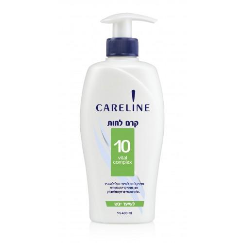 CARELINE Увлажняющий витаминизиров. крем д/волос 400 мл