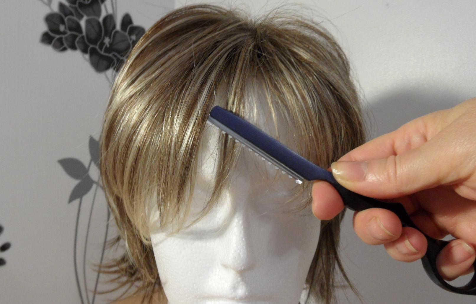 Правила и особенности стрижки париков из искусственных и натуральных волос