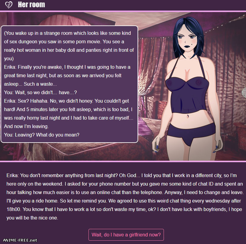 The Sissy Girlfriend Experiment [2018] [Uncen] [Flash, Text-Game] [ENG] H-Game