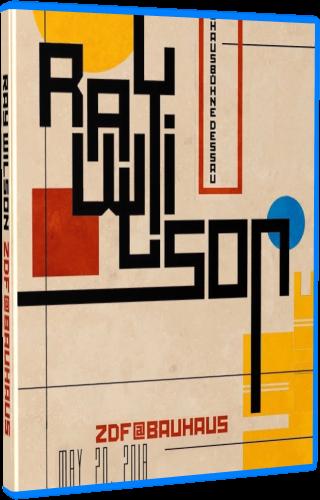 Ray Wilson - ZDF at Bauhaus (2018, Blu-ray)