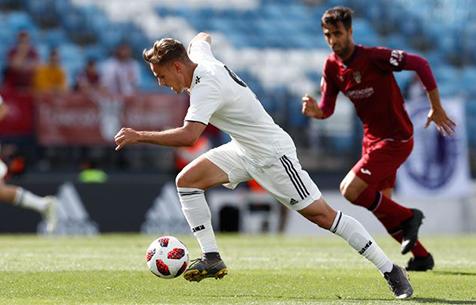 Real Madrid Castilla - Pontevedra CF 0:1
