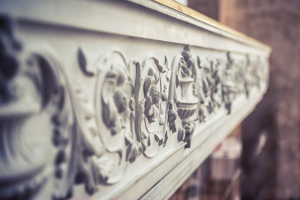 Декоративные элементы из гипсовой лепнины