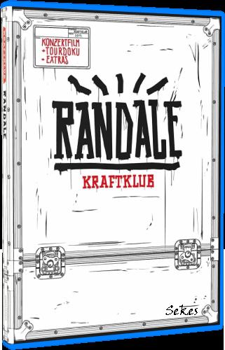 Kraftklub - Randale Live (2016, Blu-ray)