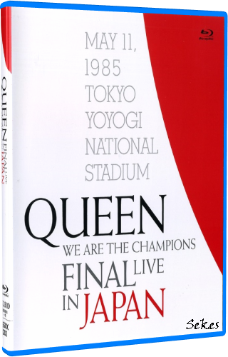 Queen - We Are The Champions: Final Live In Japan (2019, Blu-ray)