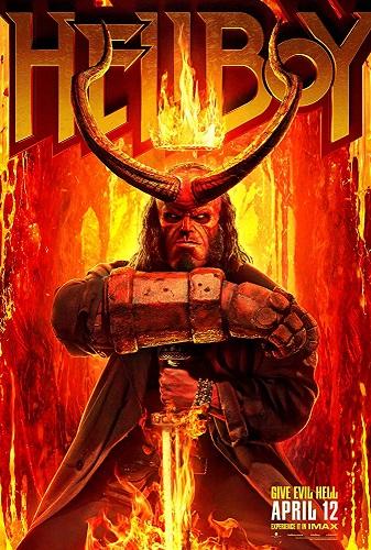 Hellboy 2019 1080p HC HDRip X264 AC3-EVO