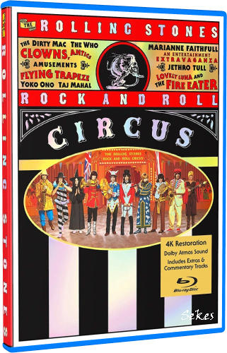 The Rolling Stones - Rock And Roll Circus 1996 (2019, Blu-ray)