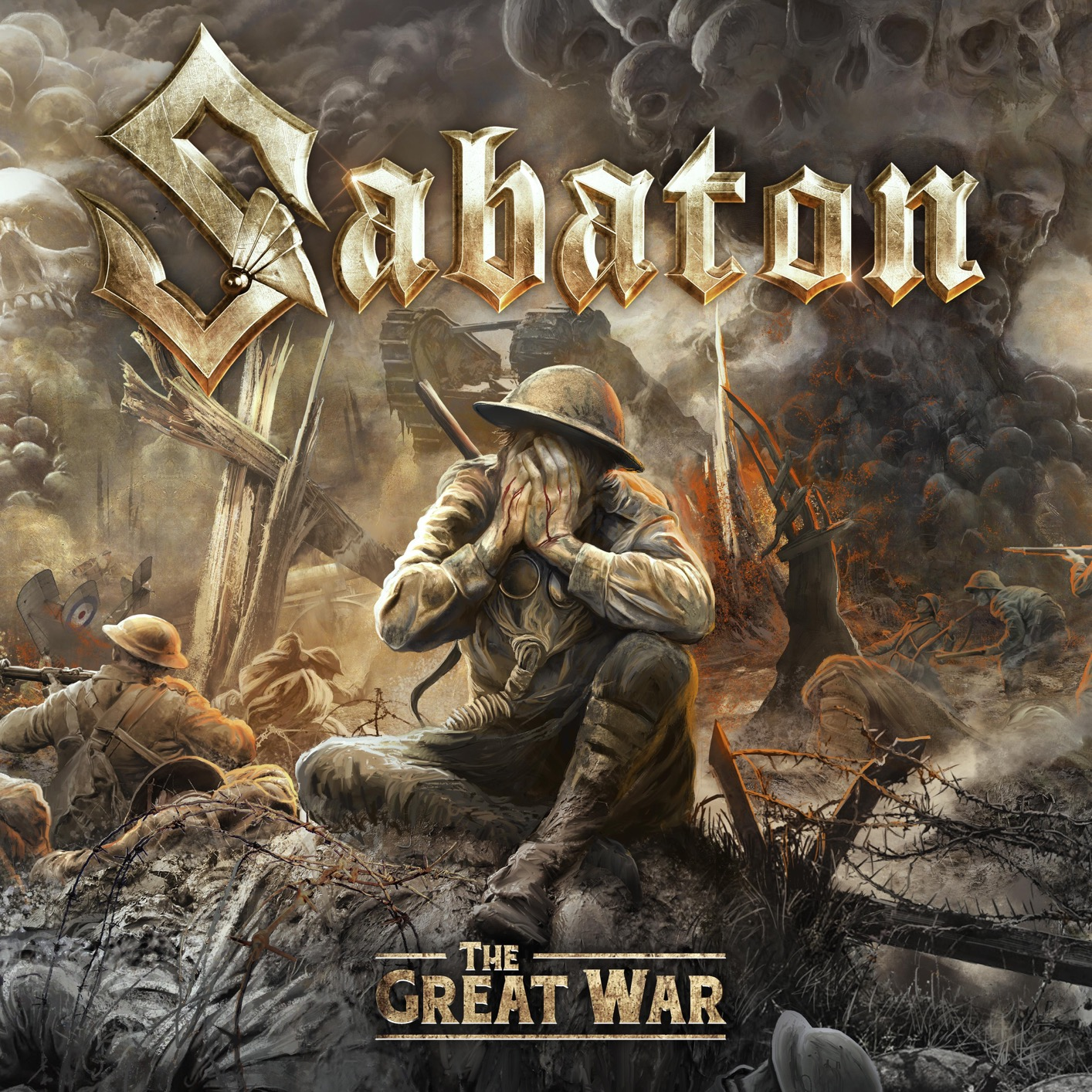 [TR24][OF] Sabaton - The Great War (The Soundtrack To The Great War) - 2019 (Power Metal)