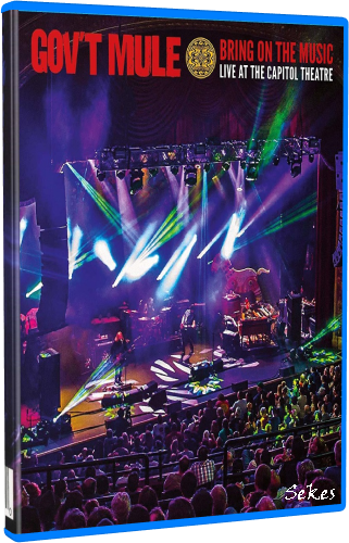 Gov't Mule - Bring On the Music - Live at the Capitol Theatre (2019, Blu-ray)