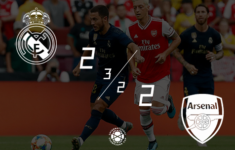 Real Madrid C.F. - Arsenal F.C. 2:2 (3:2 по пен.)