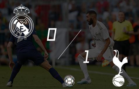 Real Madrid C.F. - Tottenham Hotspur F.C. 0:1